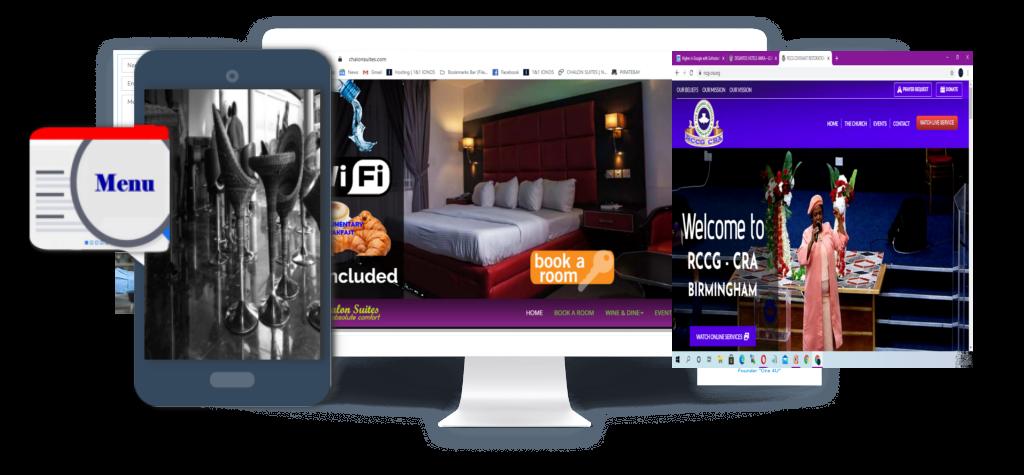 Nigeria website design